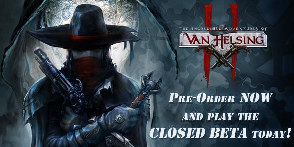 Pre-Order Van Helsing II